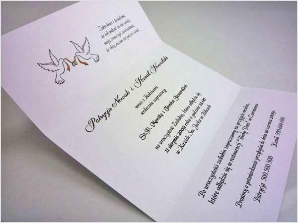 Tekst zaproszeń ślubnych