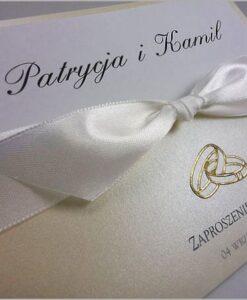 Zaproszenia ślubne ręcznie robione