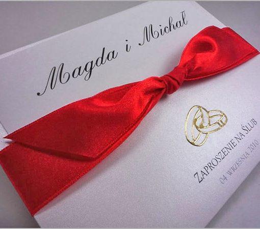 Zaproszenia ślubne robione ręcznie