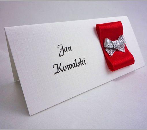 Winietki weselne na stół