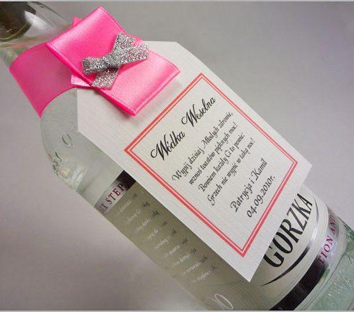 Zawieszki wódka weselna