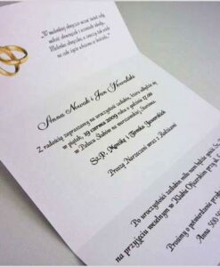 Najlepszy tekst na zaproszenia ślubne