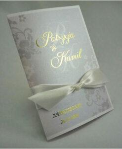 Prestiżowe zaproszenia ślubne