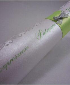 Zaproszenia na ślub rulon