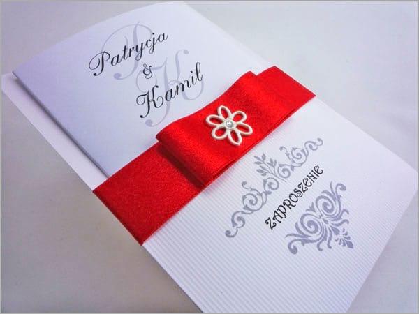 Zaproszenia na wesele z ozdobnego papieru