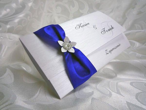 Chabrowe zaproszenia ślubne