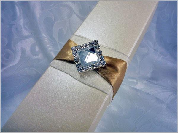Podziękowania na wesele z kryształem