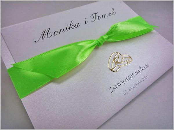 Ręcznie robione zaproszenia ślubne