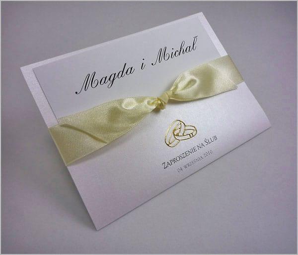 Zaproszenia na ślub ręcznie wykonywane