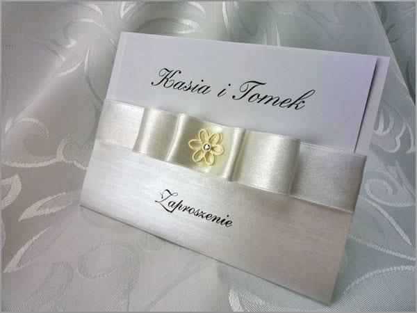 Ręcznie wykonywane zaproszenia ślubne