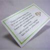 Wkładki do zaproszeń ślubnych